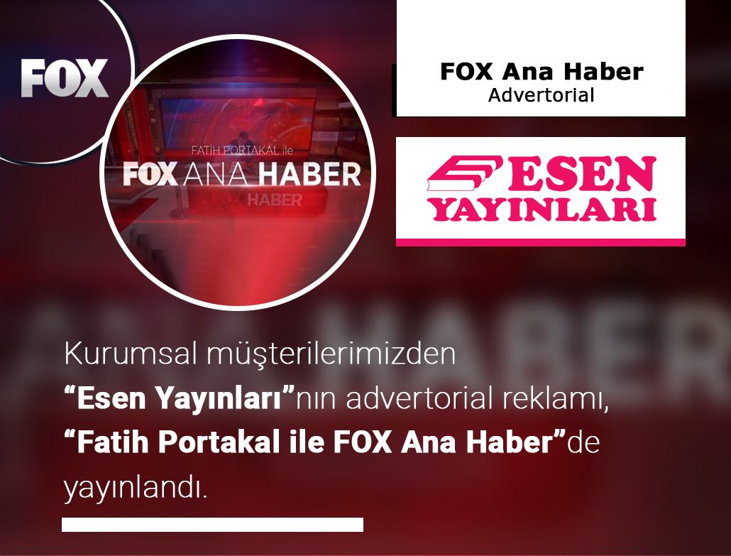 ESEN YAYINLARI | Advertorial Reklam