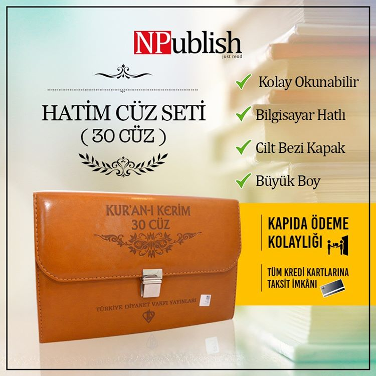 NPublish Hatim Cüz Seti